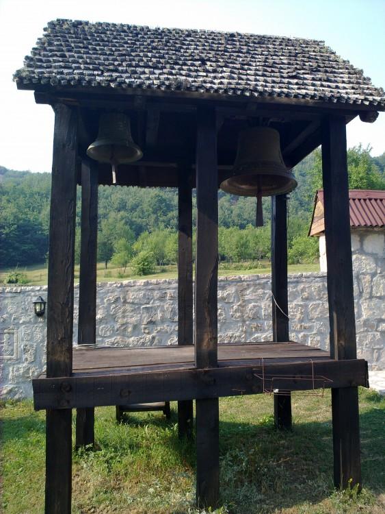 Прочие страны, Черногория, Плужине. Монастырь Пива, фотография. архитектурные детали, Колокольня