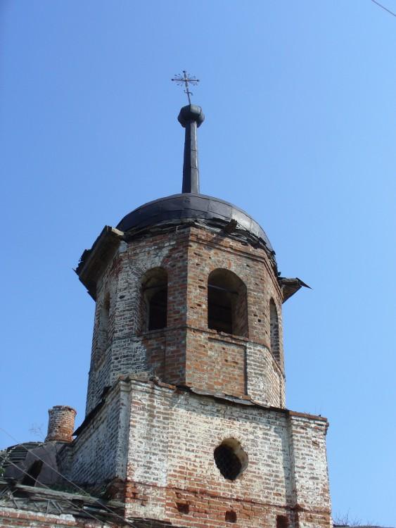 Церковь Тихвинской иконы Божией Матери, Базяково