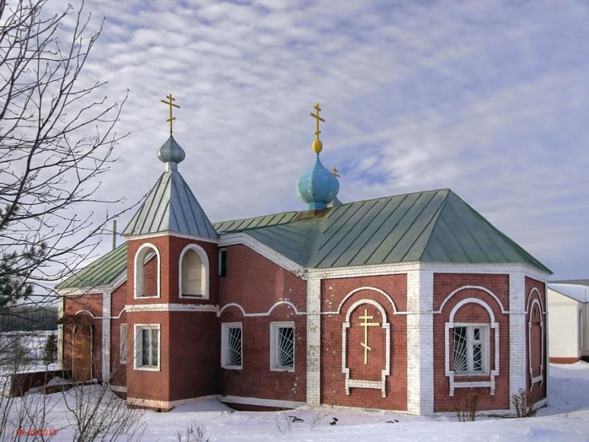 Московская область, Луховицкий городской округ, Луховицы. Церковь Сергия Радонежского, фотография. фасады
