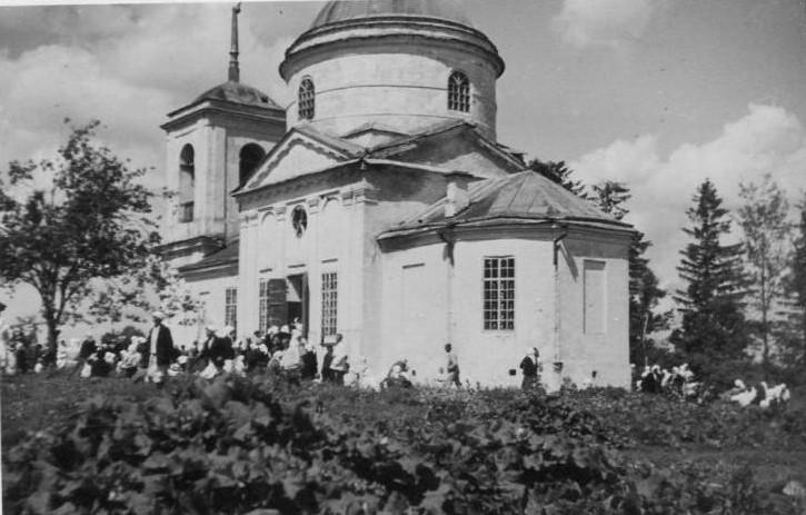 Церковь Благовещения Пресвятой Богородицы, Басино