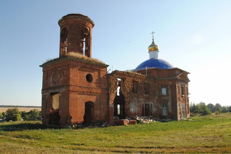 Церковь Михаила Архангела, Куликовка