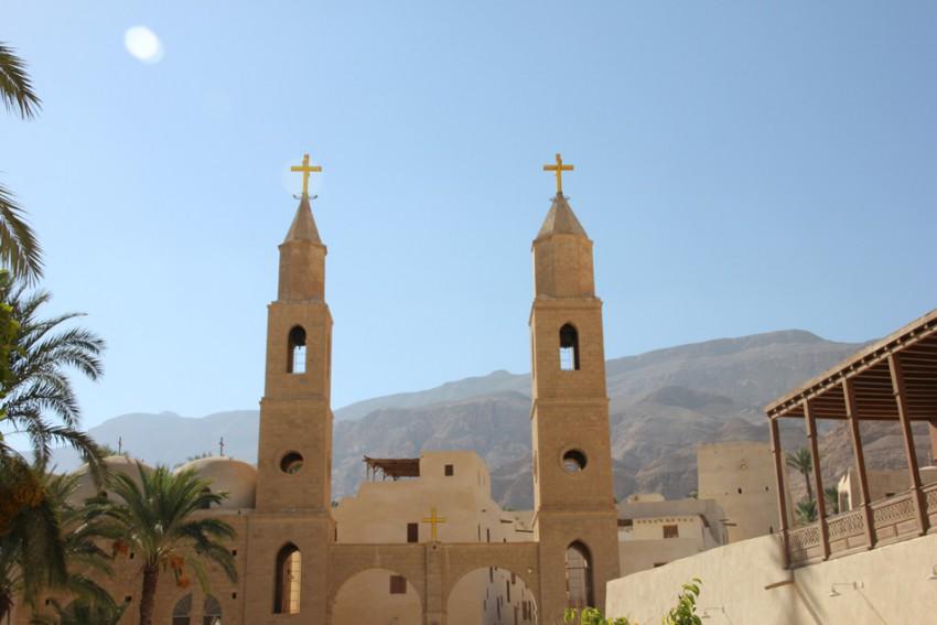 Монастырь Антония Великого, Аравийская пустыня