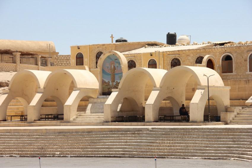Монастырь Павла Фивейского, Аравийская пустыня