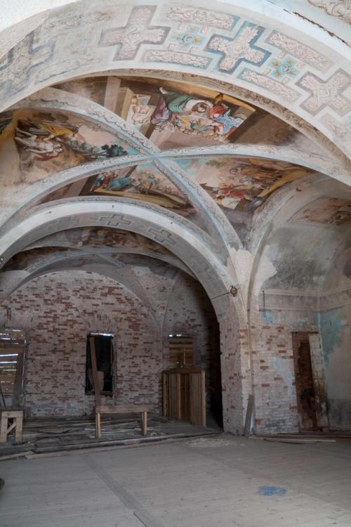Николо-Теребенский женский монастырь. Церковь Николая Чудотворца, Труженик (Теребени)