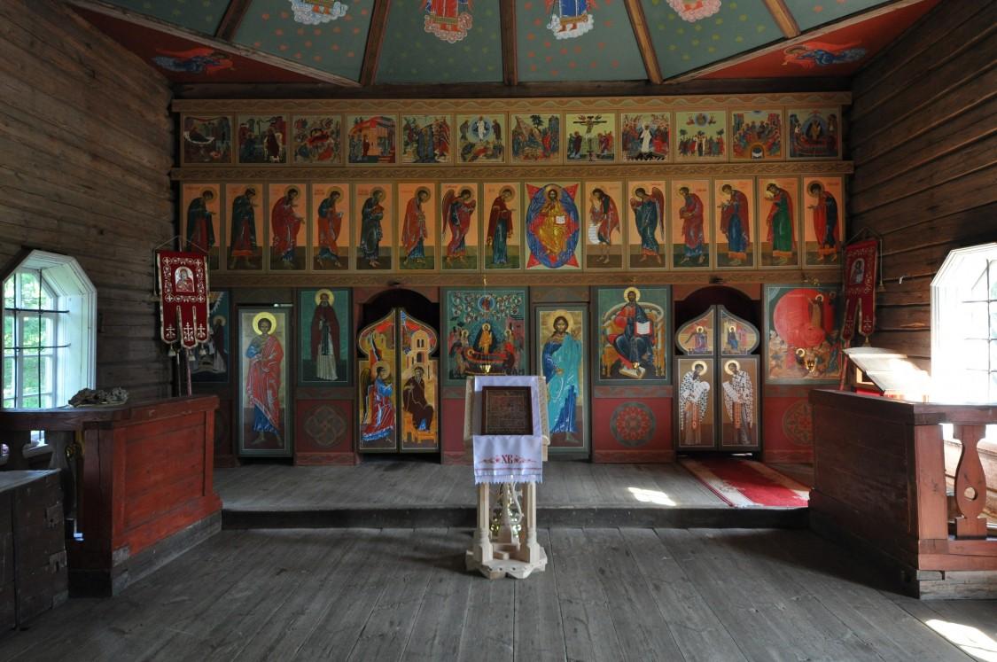 Ильинская Водлозерская пустынь. Церковь Илии Пророка, Ильинский Погост