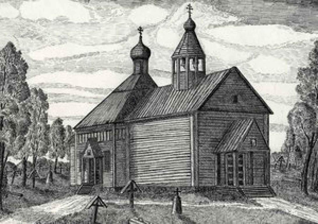 Церковь Владимирской иконы Божией Матери, Данилово