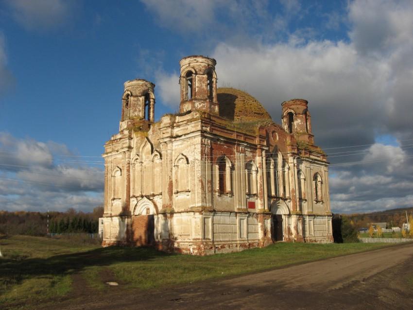 Церковь Спаса Нерукотворного Образа, Большие Полянки