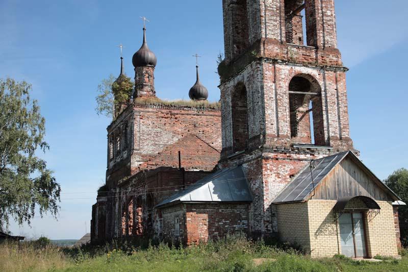 Церковь Троицы Живоначальной, Павловское
