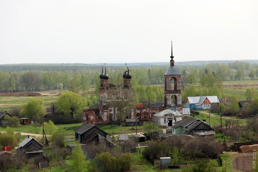 Церковь Троицы Живоначальной-Павловское-Ростовский район-Ярославская область