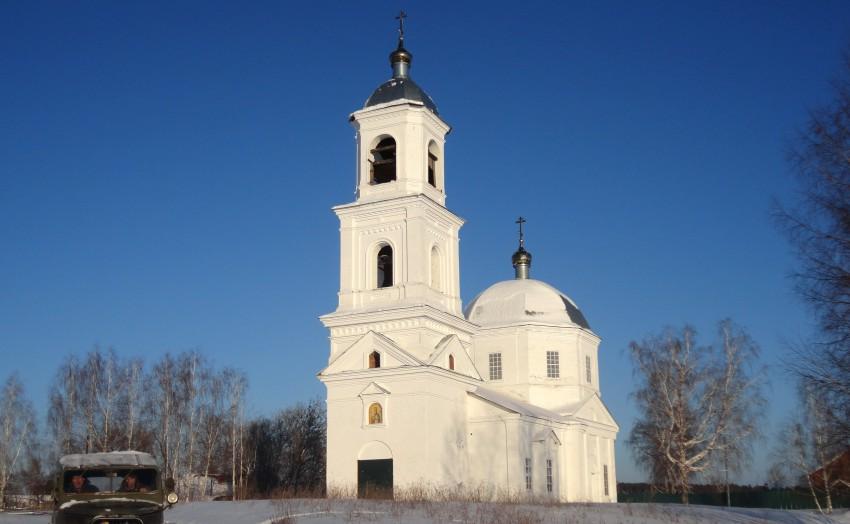 Церковь Покрова Пресвятой Богородицы, Сельская Маза
