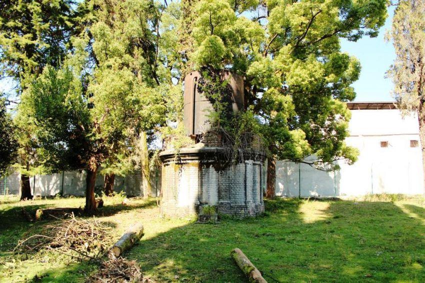 Прочие страны, Абхазия, Дранда. Успенско-Драндский монастырь, фотография. художественные фотографии, Водонапорная башня