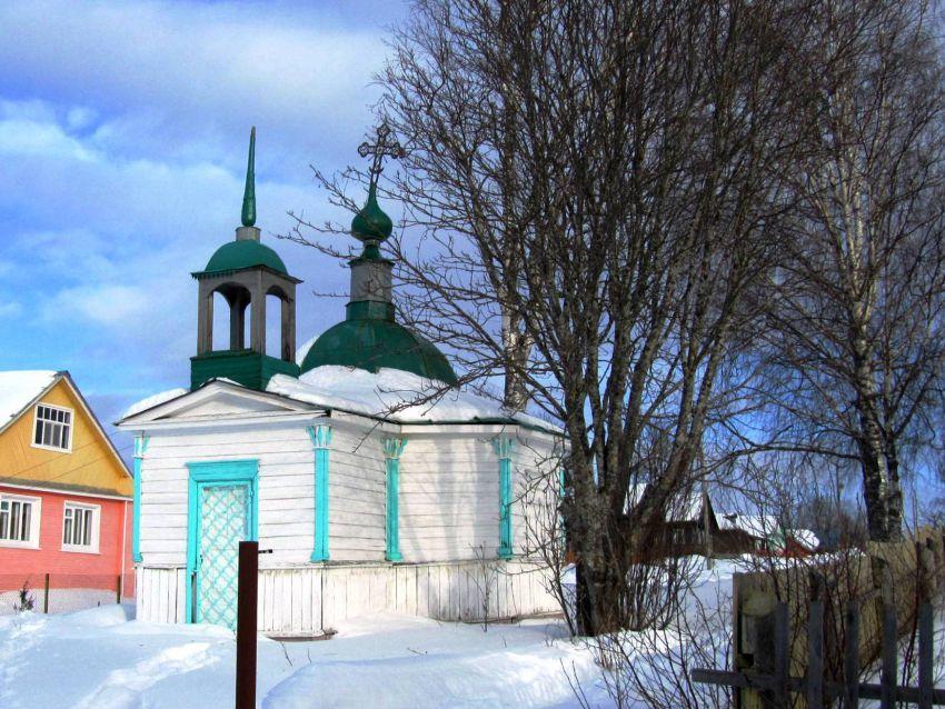 Часовня Казанской иконы Божией Матери, Звоз