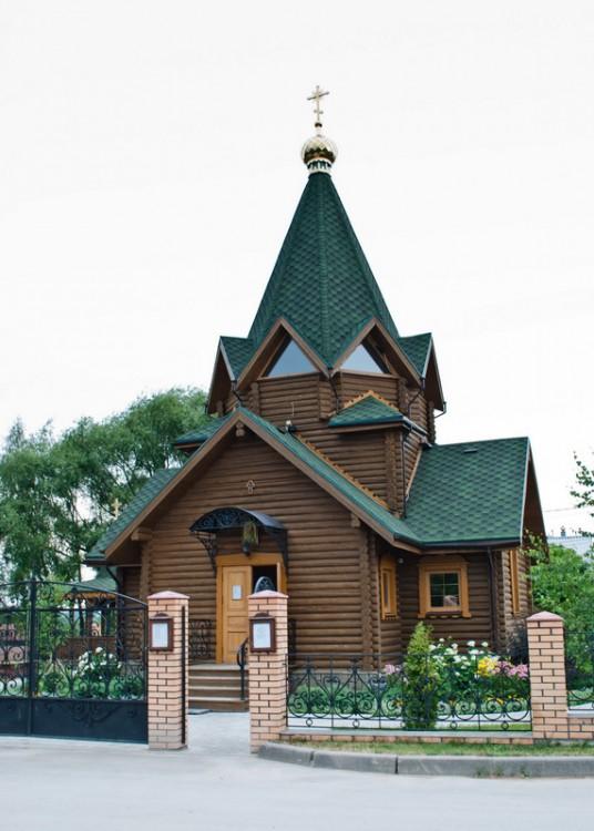 Тульская область, Тула, город, Тула. Церковь Кирилла и Мефодия, фотография. общий вид в ландшафте