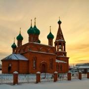 Комсомольское. Вознесения Господня, церковь