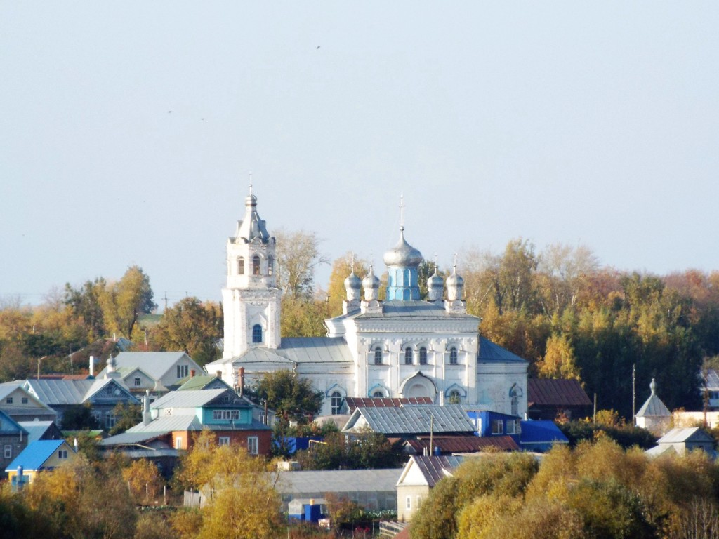 Церковь Богоявления Господня-Байгулово-Козловский район-Республика Чувашия