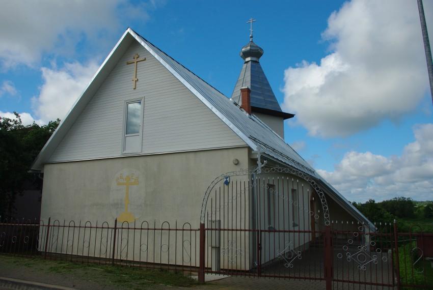 Латвия, Ливанский край, Ливаны. Неизвестная старообрядческая моленная, фотография. фасады