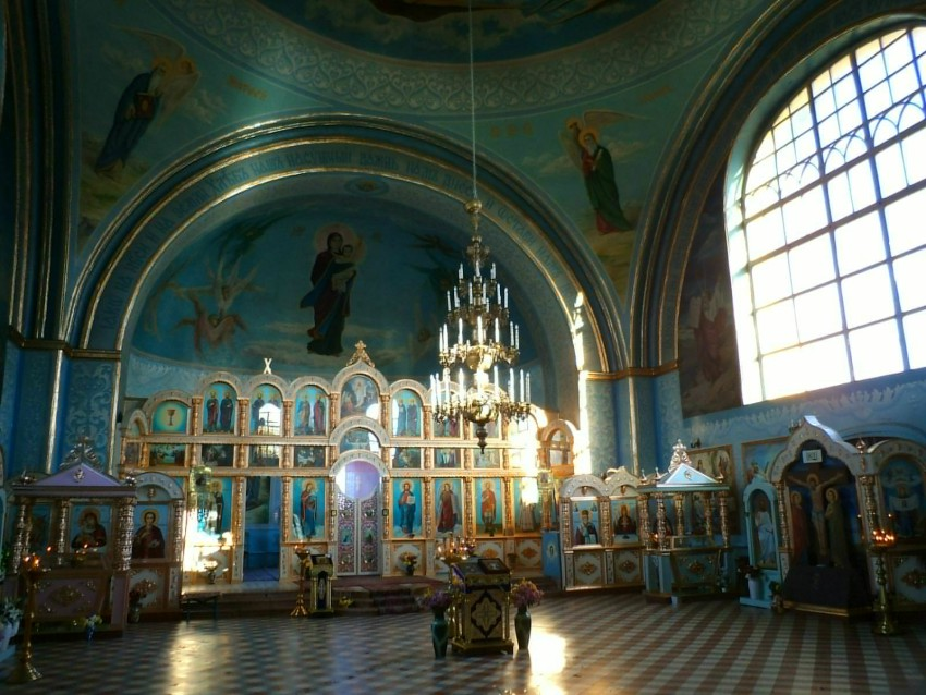 Волгоградская область, Светлоярский район, Дубовый Овраг. Церковь Никиты мученика, фотография. интерьер и убранство