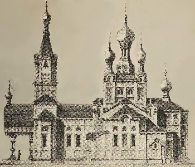 Церковь Покрова Пресвятой Богородицы, Воронок