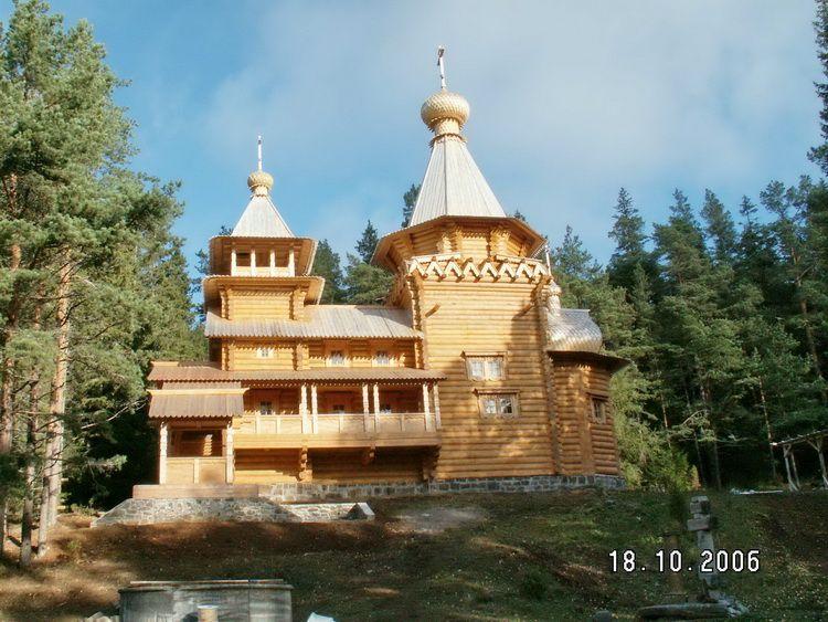 Спасо-Преображенский Валаамский монастырь. Ильинский скит. Церковь Илии Пророка, Валаамские острова