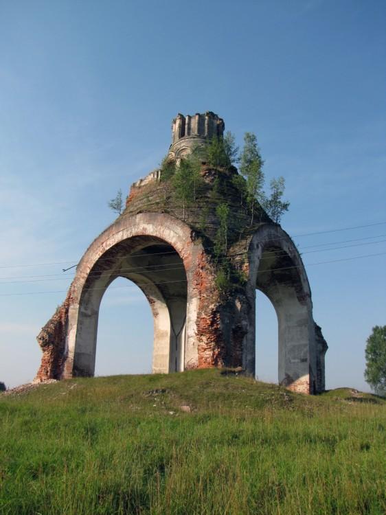 Шелтомежский Шестоковский Вознесенский монастырь. Собор Троицы Живоначальной, Шелдомеж