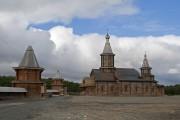 Луостари. Трифонов Печенгский монастырь в Луостари. Церковь Троицы Живоначальной