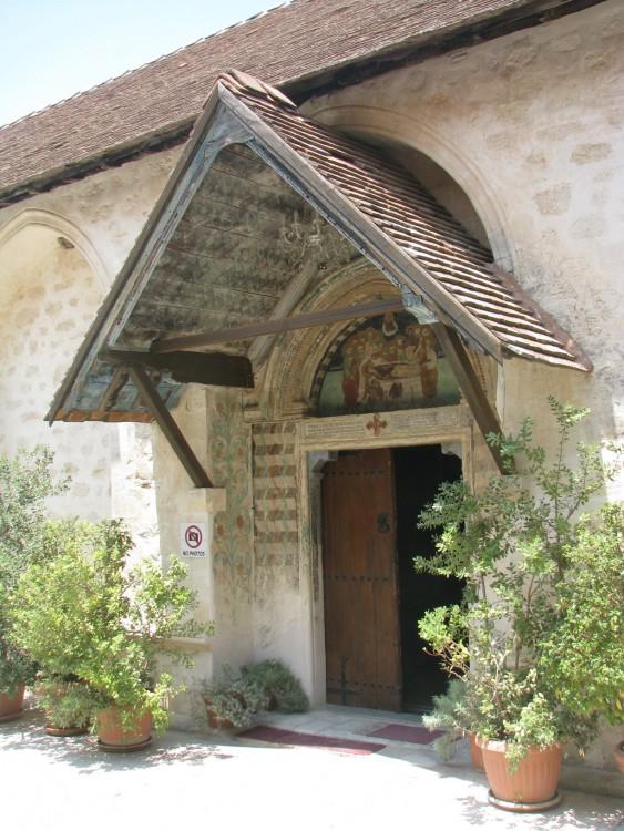 Кипр, Пафос, Пано Панагия. Монастырь Панагии Хрисороятиссы, фотография. архитектурные детали