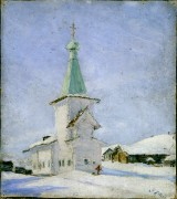 Церковь Николая Чудотворца (старая) - Койнас - Лешуконский район - Архангельская область