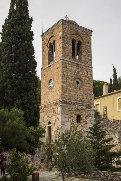 Греция, Западная Греция, Осиос Лукас. Монастырь Луки Елладского, фотография. фасады