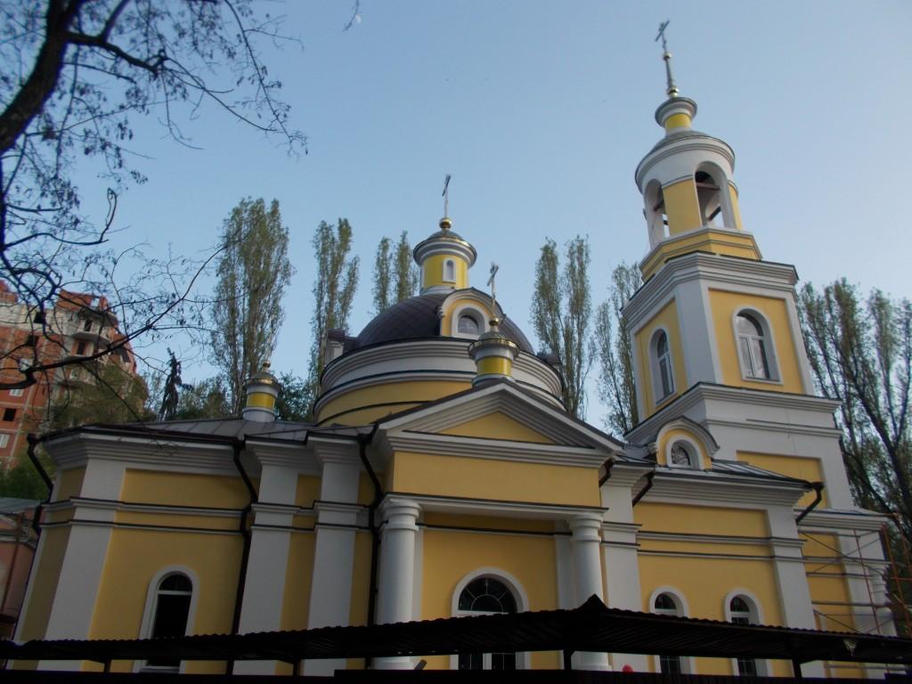 Церковь Илии Пророка на Ильинской площади (новая), Саратов