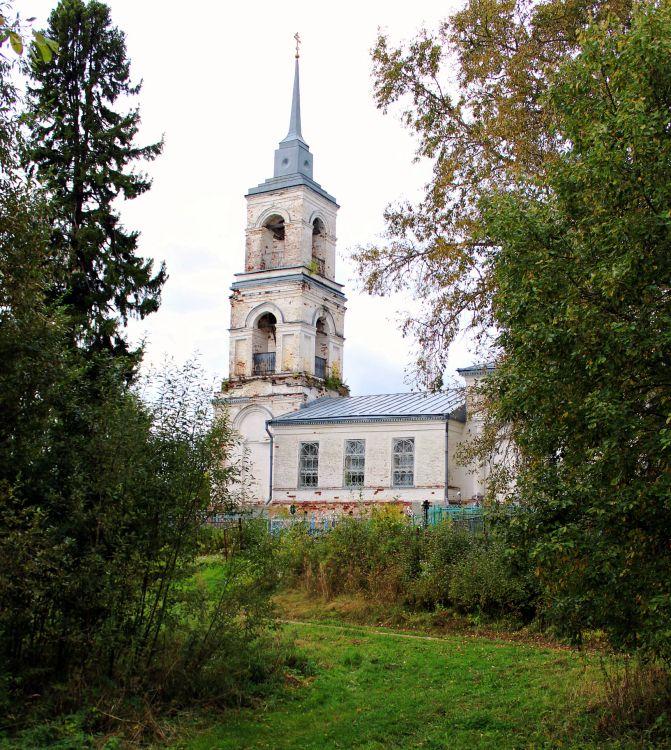Костромская область, Костромской район, Фоминское. Церковь Димитрия Прилуцкого, фотография.
