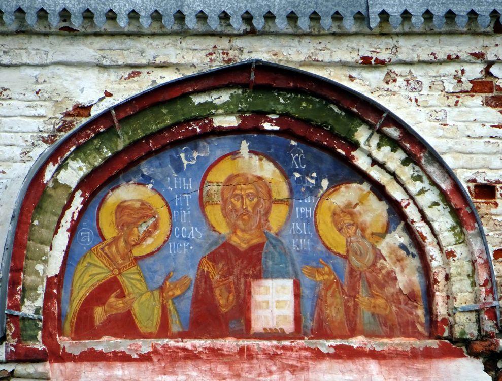 Костромская область, Костромской район, Фоминское. Церковь Димитрия Прилуцкого, фотография. фасады