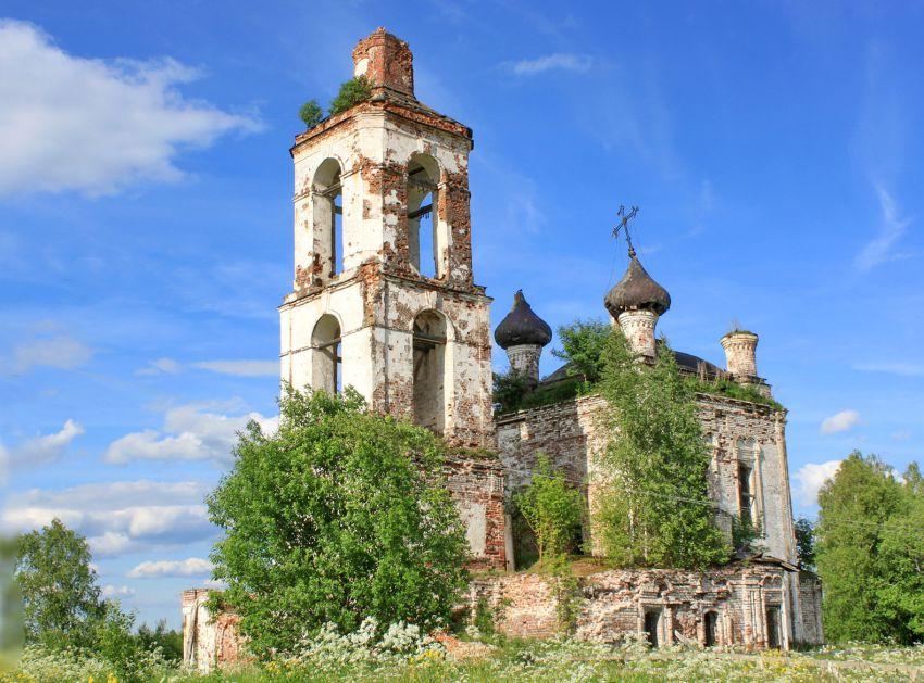Церковь Михаила Архангела в Крае, Терьково