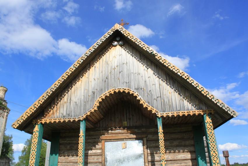 Церковь Георгия Победоносца в Крае, Терьково