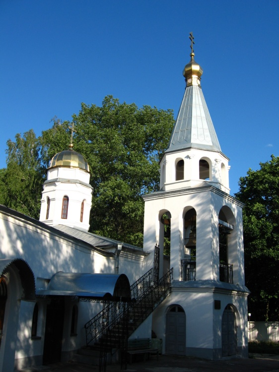 Успенский мужской монастырь. Церковь Покрова Пресвятой Богородицы, Новомосковск