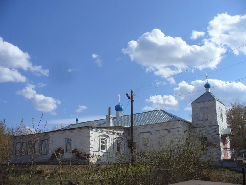 Республика Татарстан, Нижнекамский район, Старошешминск. Богоявления Господня, молитвенный дом, фотография. фасады