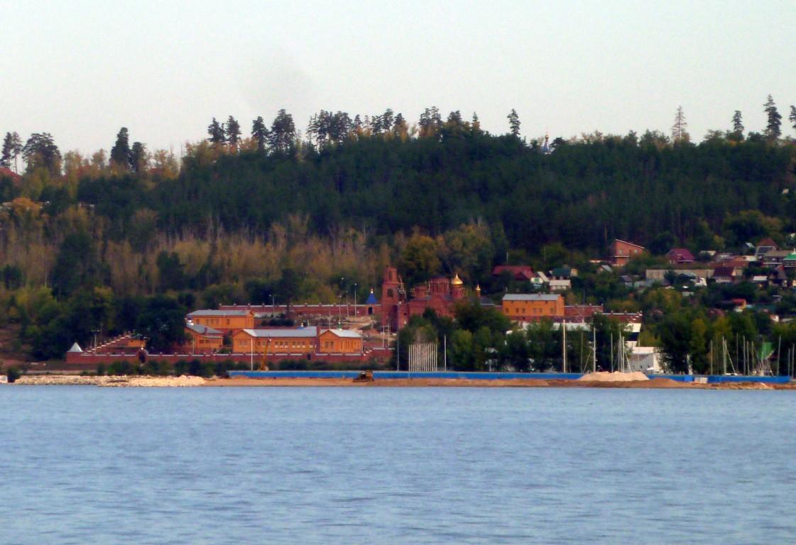 Воскресенский мужской монастырь, Портпосёлок