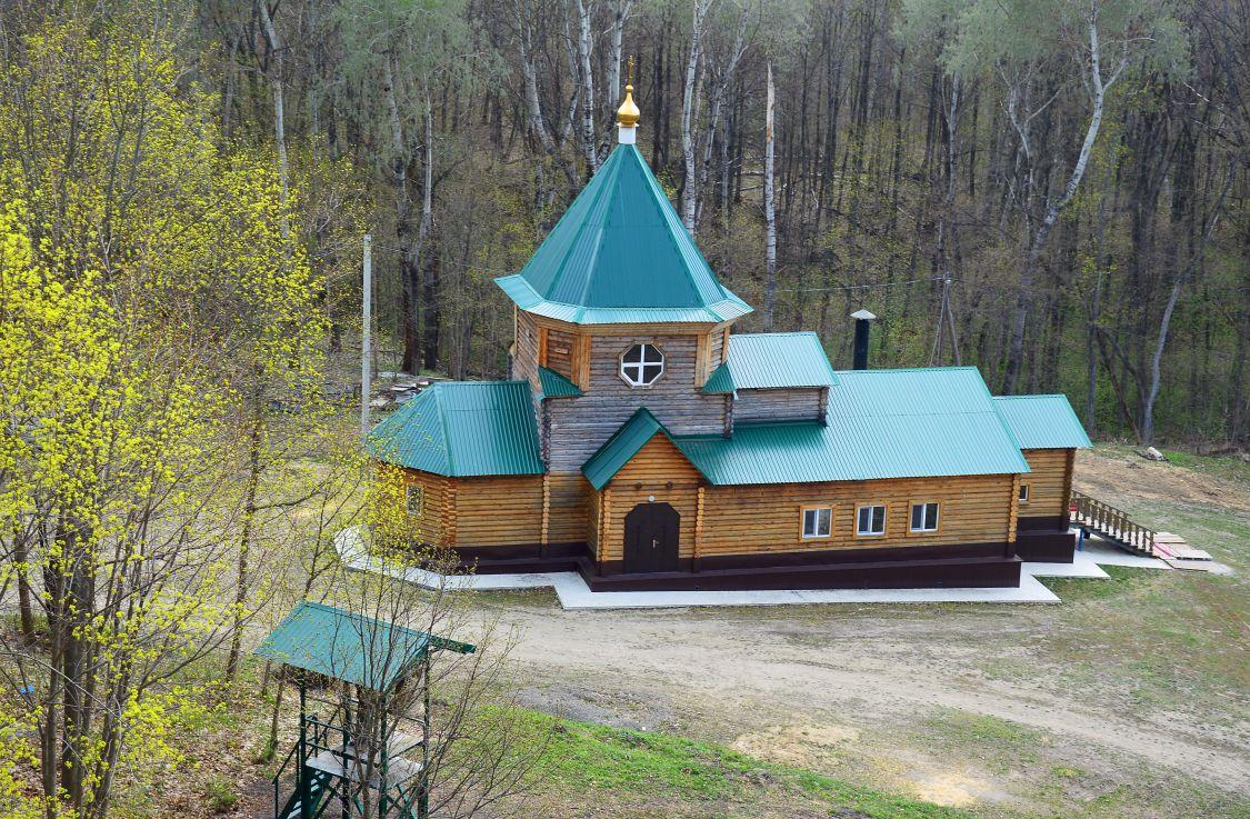 Сканов пещерный монастырь. Церковь Печерской иконы Божией Матери, Сканово