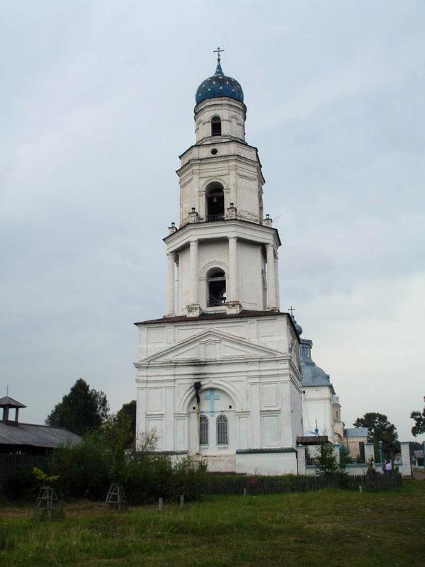 Церковь Илии Пророка в колокольне, Великорецкое