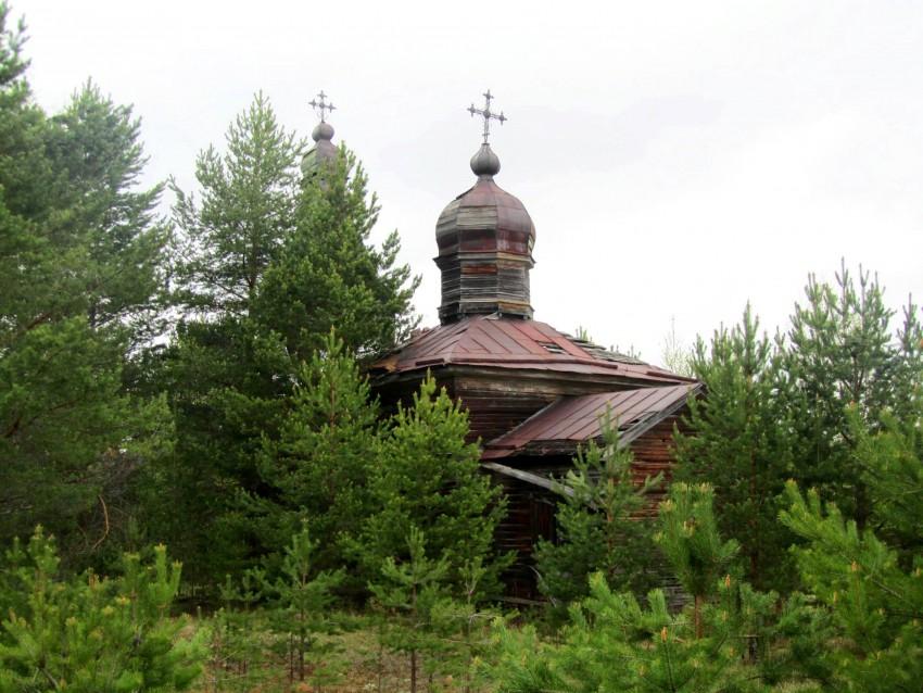 Церковь Николая Чудотворца, Болтинская, урочище