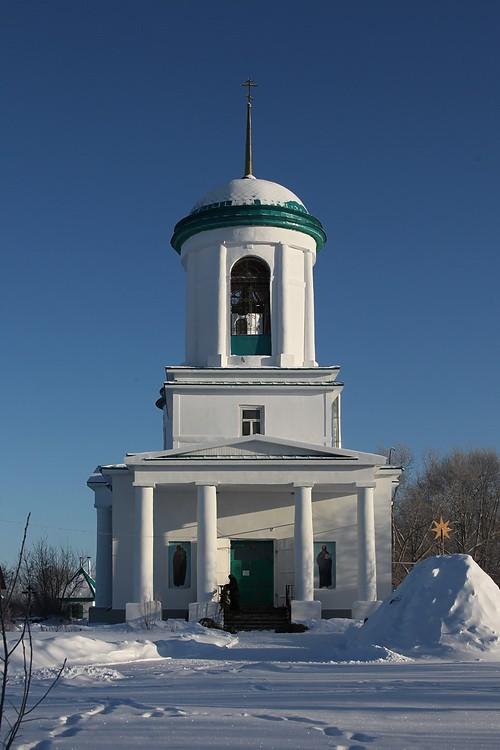 Церковь Богоявления Господня, Усть-Миасское