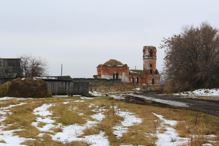 Церковь Троицы Живоначальной, Островное