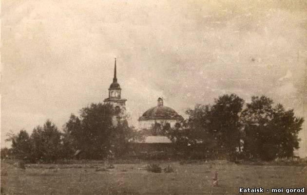 Церковь Казанской иконы Божией Матери, Верхние Пески