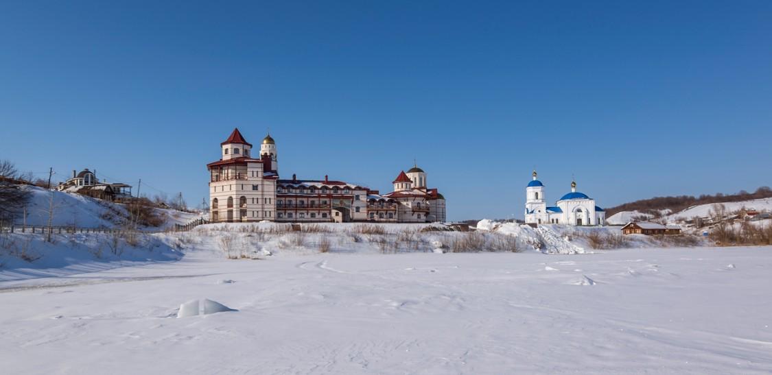 Богородичный Казанский мужской монастырь-Винновка-Ставропольский район-Самарская область