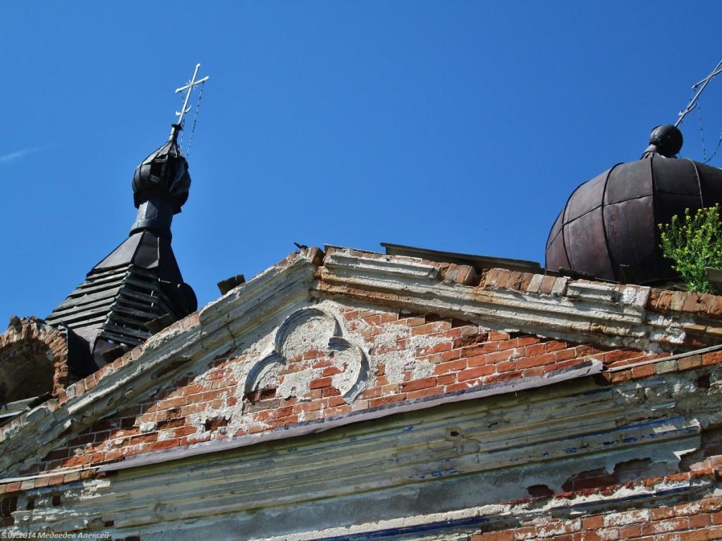 Курганская область, Мишкинский район, Шаламово. Церковь Иоанна Предтечи, фотография. архитектурные детали