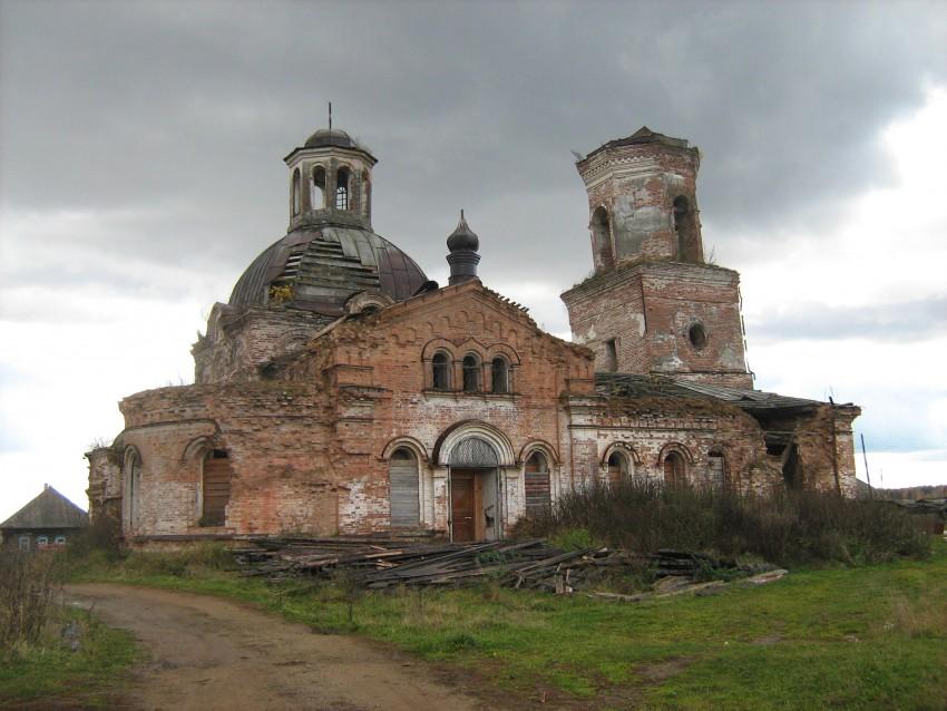 Церковь Сретения Господня, Прокопьевская Салда