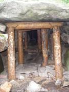 Пещерный комплекс старообрядческого скита на острове Веры озера Тургояк - Веры, остров - Миасс, город - Челябинская область