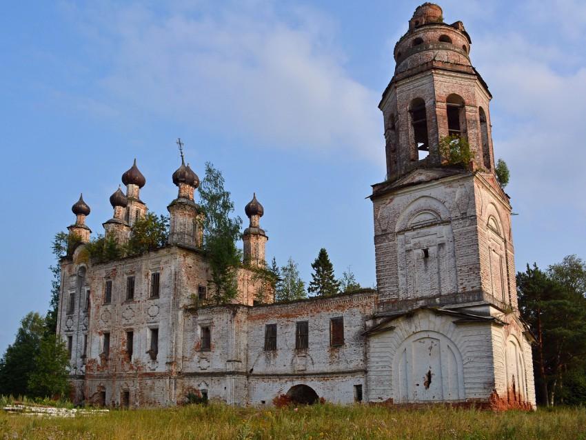 Церковь Покрова Пресвятой Богородицы, Замошье