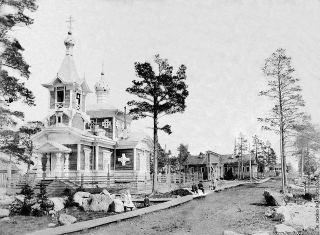 Церковь Николая Чудотворца, Берёзовый, остров