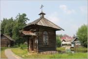 Мышкин. Народный этнографический музей. Неизвестная привратная часовня из села Рудина Слободка