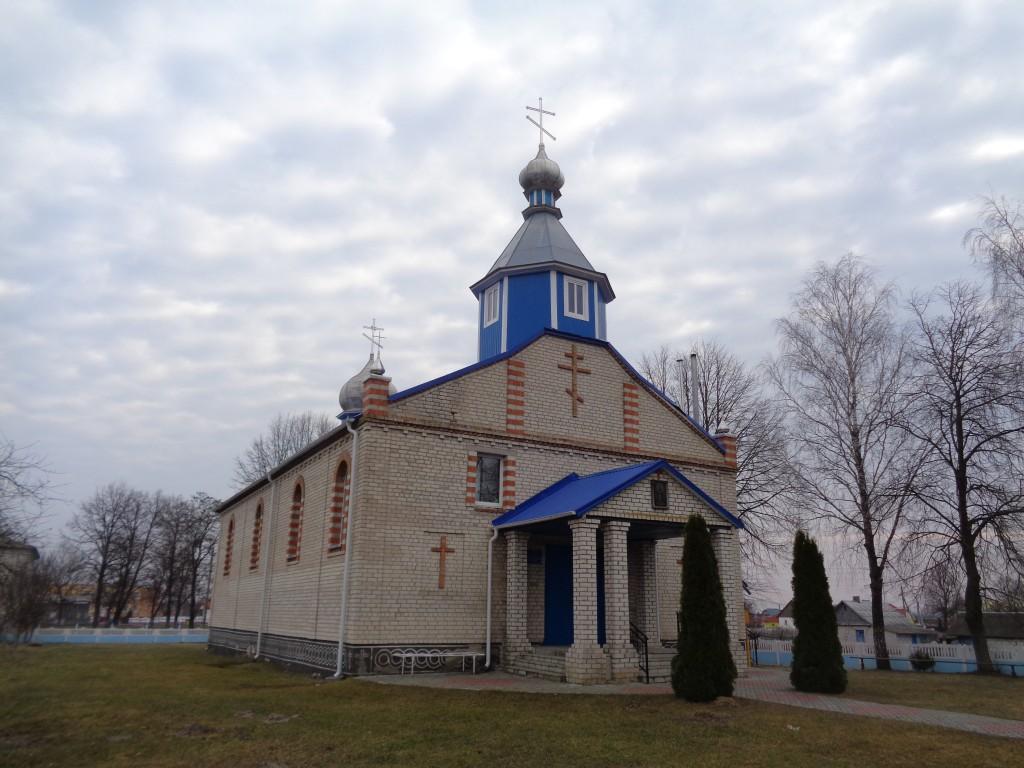 Церковь Покрова Пресвятой Богородицы, Хомск